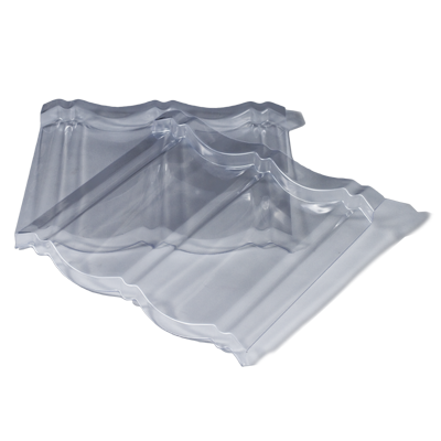 transparent polycarbonate tile